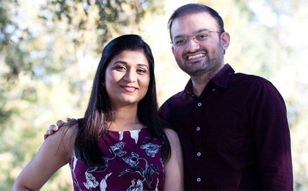 Dr. Mahesh Dholariya with wife