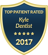 A Top Rated Dentist in Kyle badge