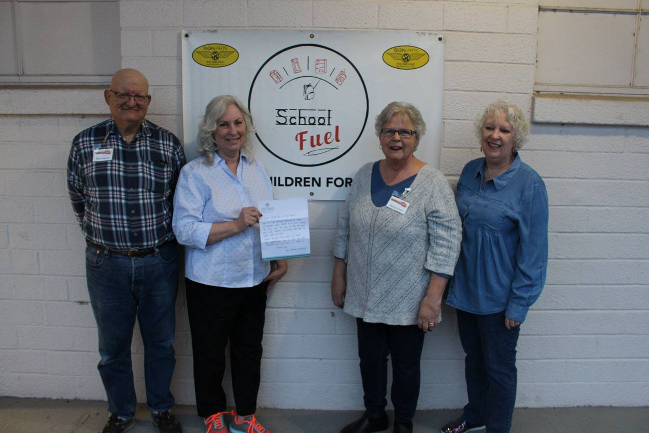 Dentist donating to San Marcos Fuel